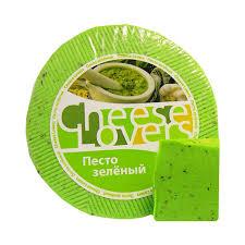 Купить <b>Сыр CHEESE LOVERS песто</b> зеленый ~1кг БЗМЖ в ...