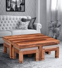 <b>Coffee Table Sets</b>: Buy Coffee Table with Stools Online @ Best ...