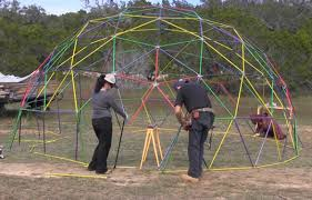How To Build A Geodesic Dome   DIY Tutorialsgeodesic dome plans