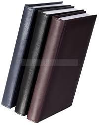 <b>Ежедневник</b> черный из кожи А5 CONDOR, <b>недатированный</b>