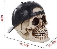 Gothic Skull <b>Ornament Personality Decoration</b> Skull <b>Ornament</b> ...