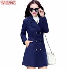 YAGENZ <b>2019</b> Winter Clothes Short <b>Wool Coat Women Coat</b> ...