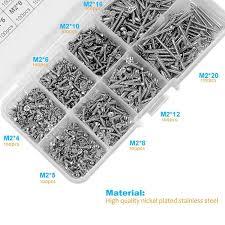 800 шт <b>набор саморезов</b> из нержавеющей стали Ассортимент ...