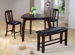 small dining bench: excellent  big amp small dining room sets with bench seating triangle within small dining table with chairs ordinary
