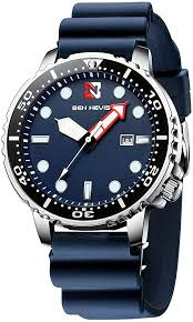 <b>Men's Watches</b>,Navy Blue <b>Fashion Sport</b> Classic Military Waterproof ...