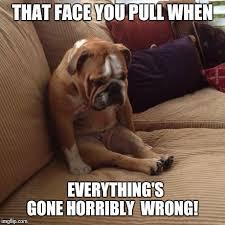 sad dog Meme Generator - Imgflip via Relatably.com
