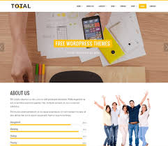 best wordpress themes and templates for  total multipurpose wp theme