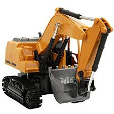 <b>Remote Control</b> Car, <b>2.4G</b> 8Channel 1:24 Alloy Excavator Toy ...