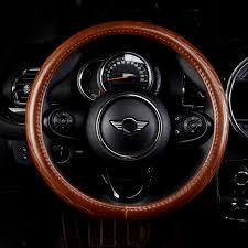Universal 38cm <b>100</b>% <b>Real Cowhide Genuine</b> Leather Auto Car ...
