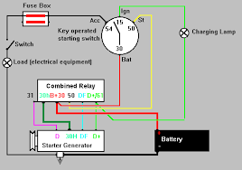 delco starter generator wiring diagram  vire  starter generator    delco starter generator wiring diagram