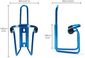 BYPA <b>Bike Water Bottle</b> Cages, 2PACKS <b>Aluminum</b> Alloy Updated ...