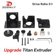 <b>3DSWAY 3D Printer Parts</b> Titan Extruder Fully Kits For V6 J head ...