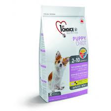 <b>1st Choice Puppy</b> Toy & Small Breeds Healthy Skin & Coat   DYNO.CA