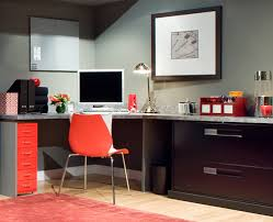 black modern home office cabinets design that can be applied on the woode floor can be add home office