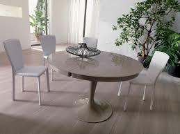 Trendy Dining Room Tables Dining Room Trendy Dining Table Extendable Round Dining Table