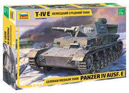 <b>Сборная модель ZVEZDA Немецкий</b> средний танк Т-IV E (3641) 1 ...