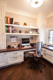 built in office desk and cabinets home office transitional with office storage wood counter built office storage