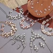 Выгодная цена на Women Crystal Simulated <b>Pearl</b> Jewelry Set ...