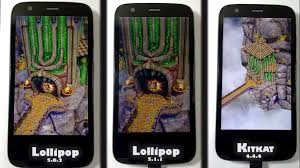 Lollipop 5.1.1 vs Lollipop 5.0.2 vs Kitkat 4.4.4 Performance ...