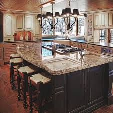 open kitchen design farmhouse: ideas sensational distressed black kitchen islands with corner farmhouse kitchen sink in white porcelain also black