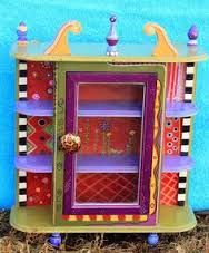 funky furniture hand painted and shutters on pinterest carolyn funky furniture