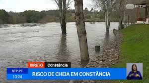 Autoridades alertam para possibilidade de inundações em Constância