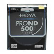 Купить <b>Светофильтр HOYA</b> ND500 <b>PRO</b> 82mm нейтральный серый