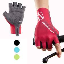 Hikenture <b>Half Finger Cycling Gloves</b> for Men and Women Padded ...