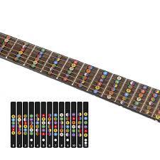 <b>Guitar Scale Sticker Sound</b> Card Sticker Self learning Electric Guitar ...