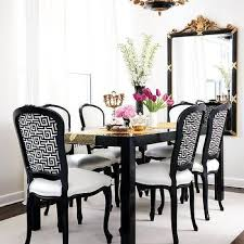 black and white dining table set: black and white dining room m bbd black and white dining room