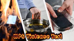 <b>OUKITEL WP6</b> Violence Test Full Episode - YouTube