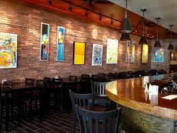 castiglia s part 2 italian restaurant bar area faux brick wall by castiglia s part 2 italian restaurant bar area faux brick wall by chiro marzetti art