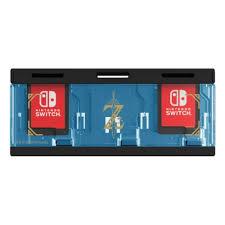 <b>Кейс Hori</b> Zelda для хранения 6 игровых карт для консоли ...