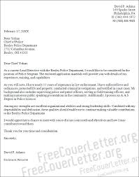 Police Officer Cover Letter  amp  Writing Guide   Resume Genius Mr  Resume