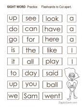 Sight Words Worksheets in a Workbook for Pre-k & Kindergarten ...Sight Words Worksheeet- Kindergarten- Preschool-Pre-k ...