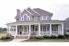 Wrap around porches  Porches and Farm house on Pinterest