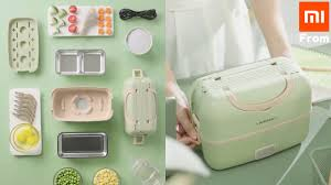 Xiaomi Liren <b>Portable Cooking Electric Lunch</b> Box. - YouTube
