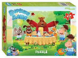 <b>Steppuzzle Пазлы</b> 104 82188 <b>Riki</b>. Буренка Даша | игрушки по ...