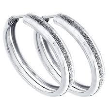 «<b>Серьги</b> конго <b>SOKOLOV из</b> серебра с алмазной гранью ...