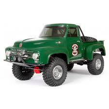 Модель для <b>трофи Axial</b> SCX10 II 1955 Ford 4wd RTR 1:10 Green