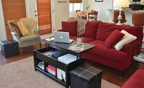 lighting living room complete guide: edge water lift top coffee table