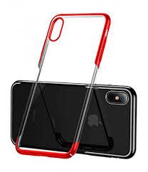 Купить <b>чехол Baseus для</b> iPhone XS, Glitter Case, Red в ...