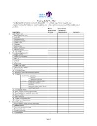 job skills checklist template skills assessment nursing skills checklist this basic skills checklist job skills checklist template dimension n tk