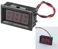 BouBou <b>3Pcs 0.56 Inch</b> Red Ac70-500V Mini Digital: Amazon.co.uk ...