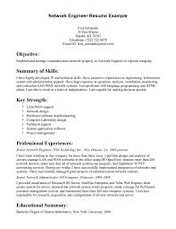 sample network engineer resume resume cover letter for network administrator resume sample format network administrator resume cover letter network administrator