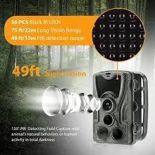 <b>HC801A</b> Full <b>HD</b> 1080P Video 16MP Photo Hunting Camera Night ...