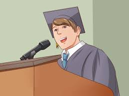 how to add humor to a graduation speech pictures wikihow