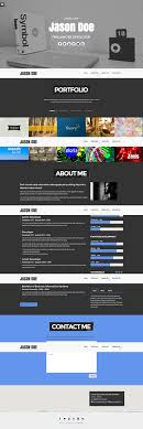 41 html5 resume templates samples examples format one page responsive resume template