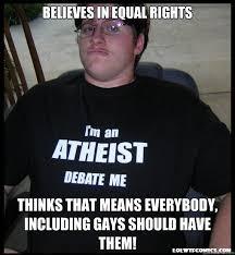 Scumbag Atheist memes | quickmeme via Relatably.com