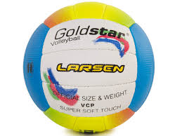 Купить волейбольный <b>мяч Larsen Gold Star</b> №5 multi-colored ...